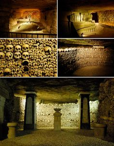 http://www.flickr.com/photos/albany_tim/ / CC BY 2.0  For urban explorers, few places are more coveted than the Catacombs of Paris. Long sealed off to the public, these harrowing subterranean chambers house an 18th century cemetery – essentially an anonymous mass grave. Beyond this, a labyrinth of tunnels extends for 280km beneath Paris in a network of disused stone mines and galleries.