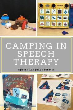 Camping speech therapy summer Language