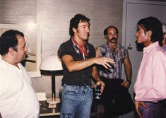 Bruce Springsteen and Michael Jackson