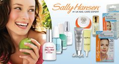 Save a stunning 80% on two Sally Hansen hair remover kits, Insta Brite nail whitener plus one additional nail treatment