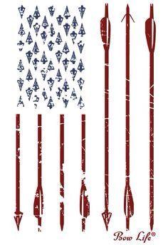 Bow hunters flag