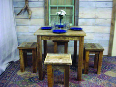 Here Are dining room sets in walmart for your cozy home Glass Dining Room Sets, Cheap Dining Room Sets, Diy Dining Room Table, Farmhouse Table Plans, Circular Table, Pottery Barn Inspired, Old Doors, Grey Wood, Rustic Table