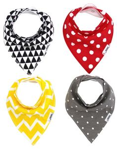 This Trendy Unisex bandana bib set is a great addition to your little's wardrobe. These bibdanas are great to accessorize any outfit while keeping your babe dry and comfortable :)   http://www.matimatibaby.com/collections/bandana-bibs/products/unisex-bandana-bib-set