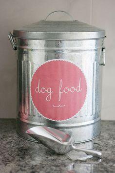 Stylish Dog Food Storage Ideas | 3 Shades of Dog