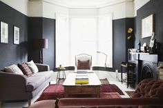 Tips For Using Dark Paint - Mad About The House