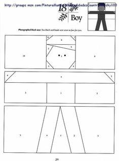 View album on Yandex. Boys Quilt Patterns, Vintage Quilts Patterns, Paper Pieced Quilt Patterns, Patchwork Patterns, Pattern Blocks, Quilting Tutorials, Quilting Designs, Paper Peicing Patterns, Picasa Web Albums