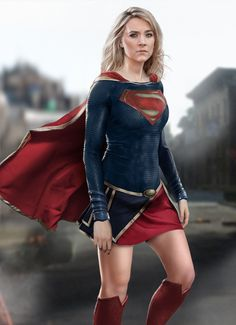 Supergirl DCEU Concept by joshwmc on DeviantArt Supergirl Superman, Batman, Superman Family, Hat Hairstyles, Dc Heroes, Marvel Dc, Marvel Comics, Nice Tops, Bell Sleeve Top