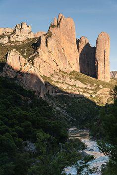 Los Mallos de Riglos Huesca Spain