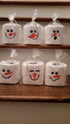 Snowman Toilet Paper