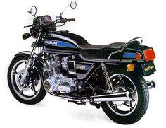Suzuki GS1000 - loved that bike mine was black and red