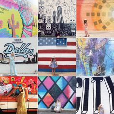 Here is a list of Dallas' best murals found on the streets of downtown Dallas. We see a photo-op in your future! Weir's Furniture in Dallas, Plano & Southlake, Texas www. weirsfurniture.com
