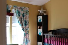 Project Nursery - Teal and Pink Girl Nursery
