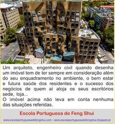 Escola Portuguesa de Feng Shui: ARQUITETURA