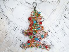 Bohemian decoration for Christmas tree