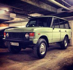 Classic Range Rover 1981
