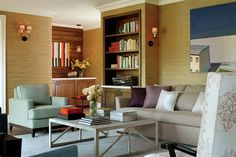 traditional living room with elegant elements- I love almost all of the living room concepts on this page.