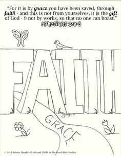 Free Bible Coloring Pages At Artistic Hands Of Faith
