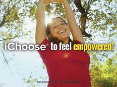 Monday Motivation: Choose to feel empowered, not deprived when skipping foods to keep meals under 600 calories. www.Facebook.com/iChoose600