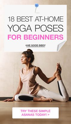 Take a look at some of the best yoga poses for beginners you do do easily at home! These 18 poses will help you build the strength and flexibility you need to become a true yogi. #Yoga #YogaPoses #YogaForBeginners yoga poses for beginners YOGA POSES FOR BEGINNERS | IN.PINTEREST.COM HEALTH EDUCRATSWEB