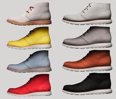 Cole Haan LunarGrand Chukka.  For everyone who doesn't want to give up on comfort while rocking these slick footwear. C