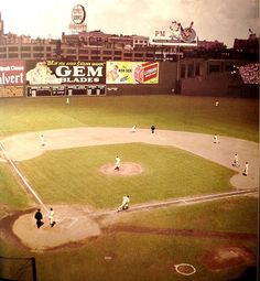 Fenway Park, home of the Boston Red Sox (1940s)