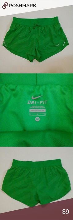 Nike Dri-Fit Shorts Size med Like new condition  Worn once Built in briefs Nike Shorts