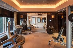 The fanciest gym we've ever seen...