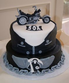 sons of anarchy cake - Google Search