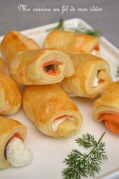 Petite idée toute simple et très classique (mais délicieuse) pour vos apéros festifs :-) Ingrédients : 1 pâte feuilletée 2 ou...