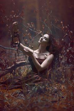 """Like A Moth To the Flame"" — Photographer: Anjelica Hyde Model: Bernadette Lemon"