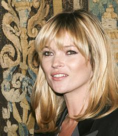 Kate Moss Applies the Big Bang Theory to Her Hairstyle