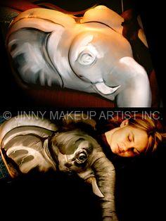 Jinny Makeup Artist using Mehron Paradise Belly Art, Belly Painting, Nerdy, Paradise, Makeup, Face, Artist, Make Up, Artists