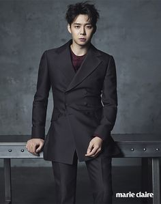 Yoochun Enlists With Marie Claire For The September 2015 Issue | Couch Kimchi