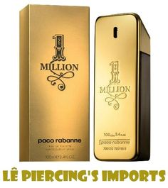 Perfume One Million Masculino 100ml Eau de Toilette Paco Rabanne