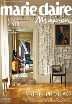 I contenuti di Marie Claire Maison Nuovo numero  e l'editoriale di Cinzia Felicetti - MarieClaire