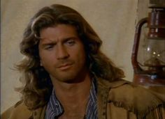"Joe Lando as: Byron Sully on ""Dr. Byron Sully, Joe Lando, Dr Quinn, Jane Seymour, Best Shows Ever, Movie Tv, Tv Series, Tv Shows, Handsome"