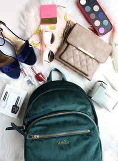 $159 Paola Velvet Backpack - Asparagus Velvet StyleWatch Holiday Hits Gift Guide 2016