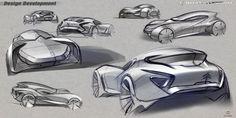 Citroen DS Gran Turismo on Behance