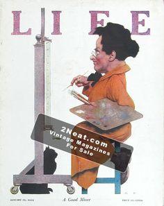 Life Magazine - January 31, 1924 (# 2152) - Maxfield Parrish