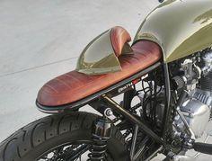 Removable seat cowl  #cb550 #hondacustomcycles #honda #hondacb550 #projectbike…