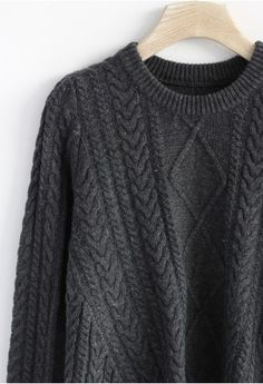Cable Sweater <3