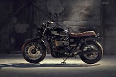 Triumph Bonneville T100 by Bunker - repined by http://www.motorcyclehouse.com/ #MotorcycleHouse