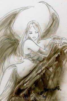 Wild Sketches 1 by Luis Royo - http://www.luisroyo.com/en/obras/libros/