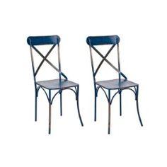 impressionnant  chaise en métal pas cher