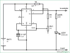 signal generator circuit for frequency counter