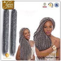 Crochet braids with human hair, crochet hair extension, wholesale crochet braid hair