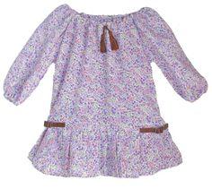 Lindsey Berns #kids boho flower print dress