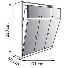 Mon blog parmi tant d'autres... Lechatmorpheus: Le lit escamotable, une solution astucieuse pour gagner de l'espace.