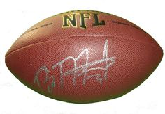 Brandon Meriweather Autographed NFL Wilson Composite Football, Proof Photo. Brandon Meriweather Signed NFL Football, New York Giants, Washington Redskins, New England Patriots, Chicago Bears, Miami Hurricanes, Proof  This is a brand-new Brandon Meriweather autographed NFL Wilson composite football.  Brandon signed the football in silver paint pen. Check out the photo of Brandon signing for us. ** Proof photo is included for free with purchase. Please click on images to enlarge. Please browse…