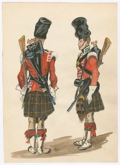 79th Cameron Highlanders Gibraltar, 1847
